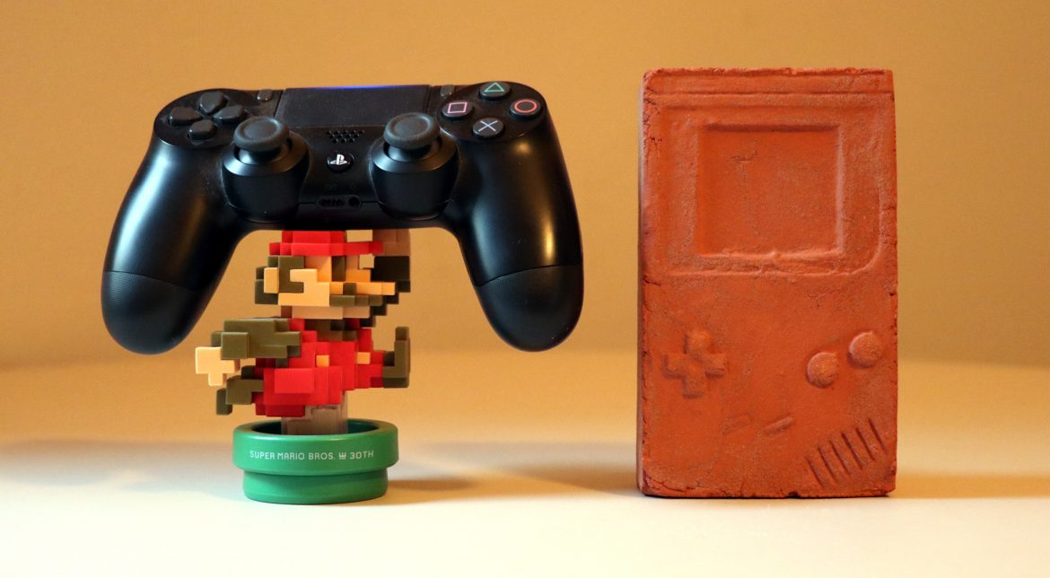 Konsole, Switch, Gameboy, PS4, Xbox