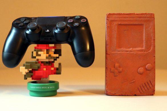 Konsole, Switch, Gameboy, PS4, Xbox