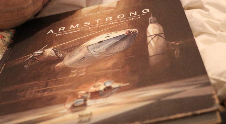 Armstrong, Maus, Mondlandung, Mond