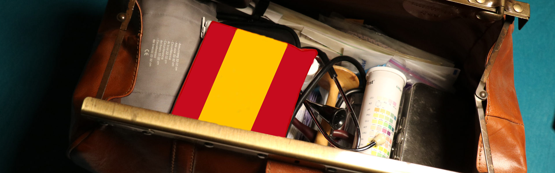 Spanien, Hebamme, Hebammentasche