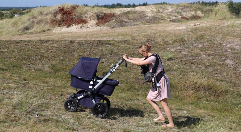 Kinderwagen, Babytrage, Kindertrage, Tragetuch