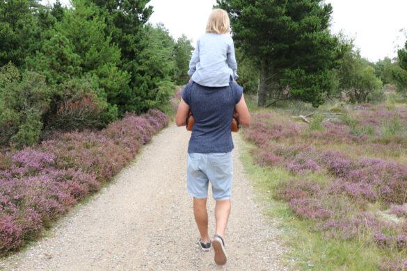 Vaterschaft, Vater, Tragevater, Schulter
