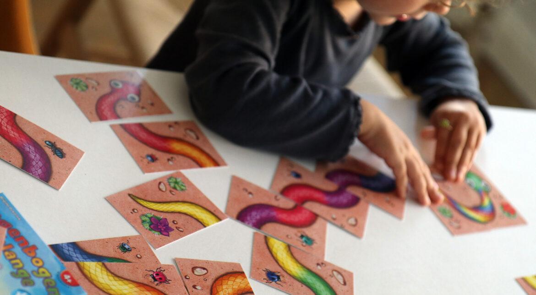 Amigo, Regenbogenschlange, Familienspiel