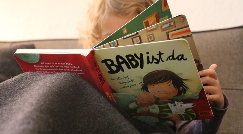 Geschwisterbilderbuch, Geschwister, Geschwisterbaby